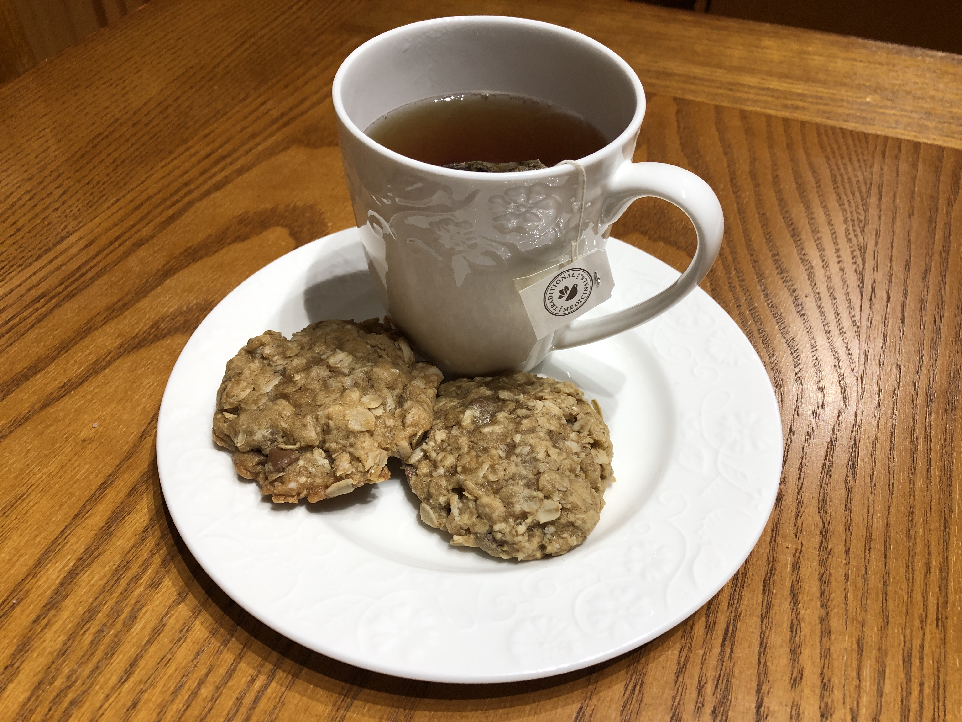 Chewy Oatmeal Chocolate Chip Cookies 3