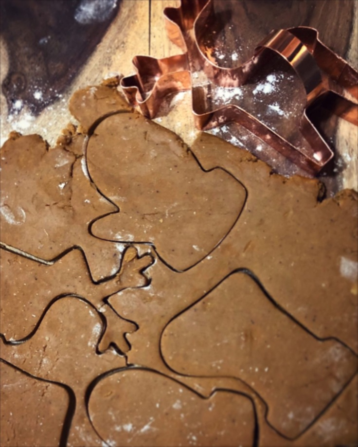 Old Fashion Gingerbread Cookies 1