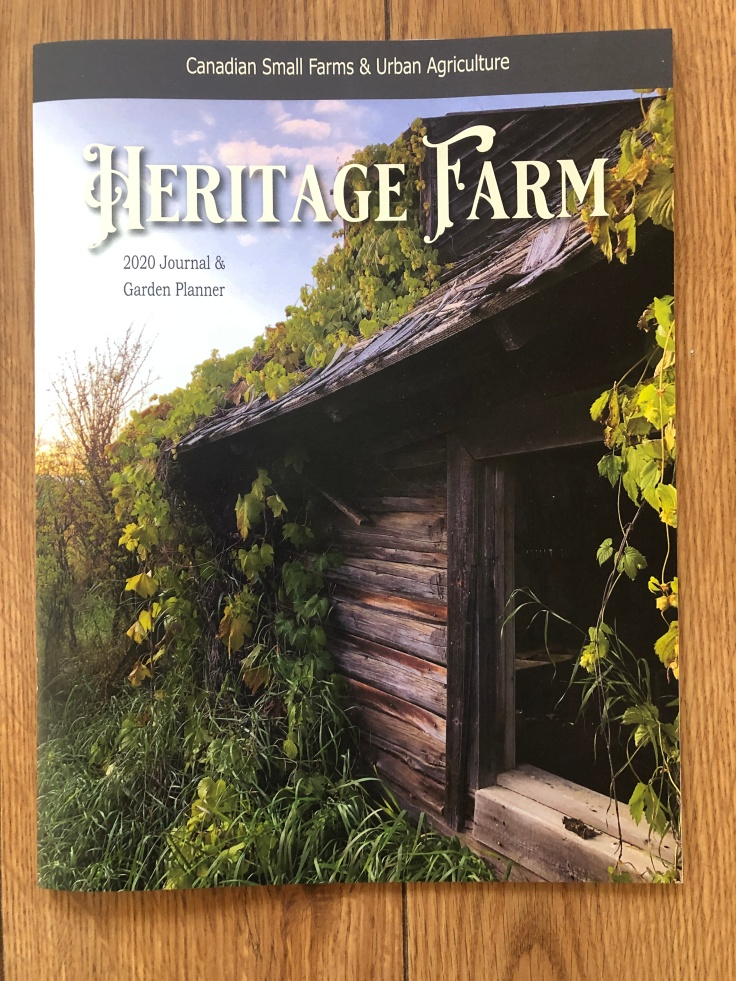 Journal Herirtage Farm 2020
