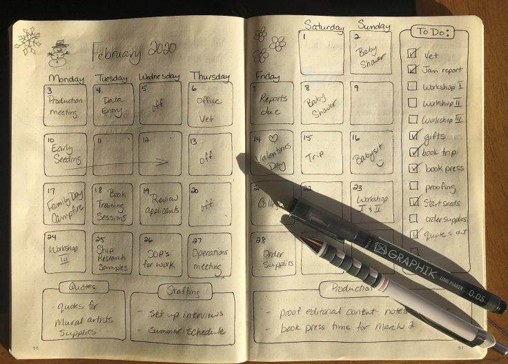 Journal sample web