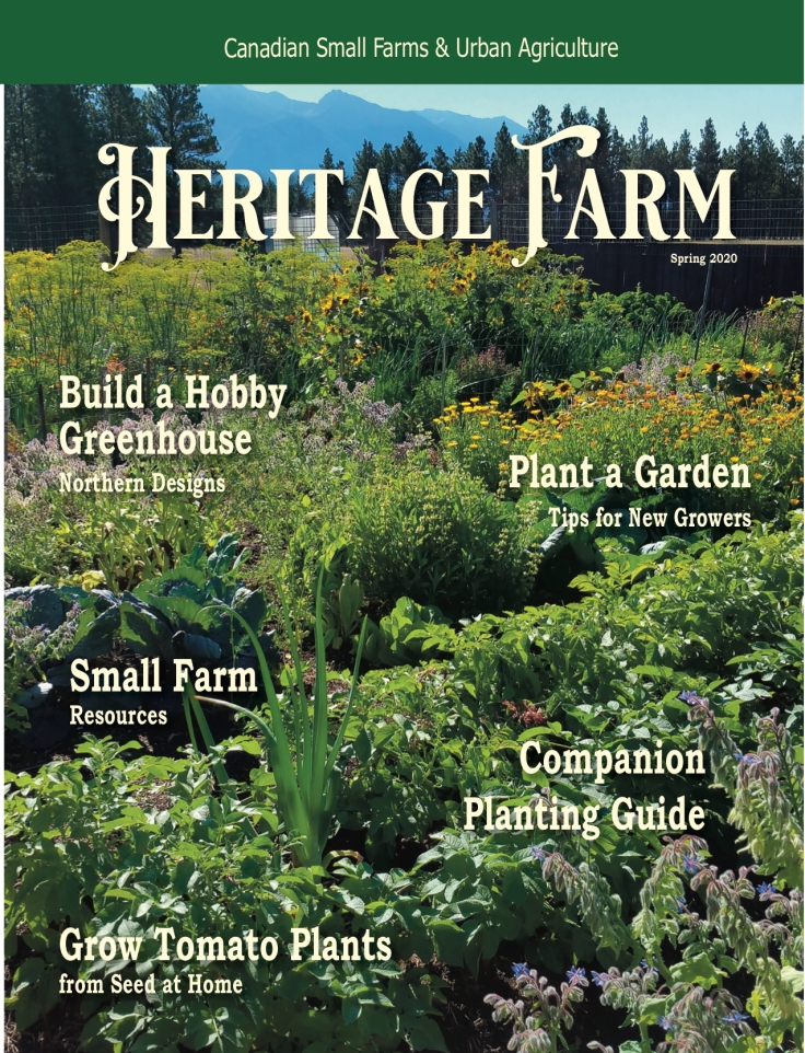 Heritage Farm Spring 2020 Cover
